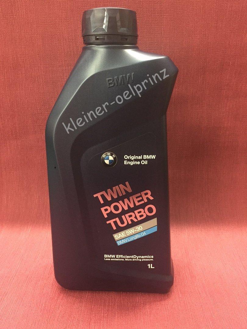 Original bmw engine oil twin power turbo 5w 30 in der 1 for Bmw 335i motor oil